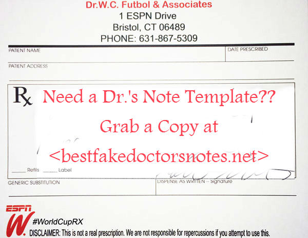 Impact Of Fake DoctorS Note On Integrity  A Repository Of Fake